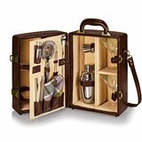 """Manhattan"" Portable Cocktail Case by Picnic Time (2 Colors)"