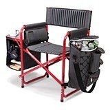 Fusion Outdoor Portable Folding Chair by Picnic Time (3 Colors)