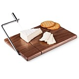 """Meridian"" Black Walnut Cutting Board and Cheese Slicer"