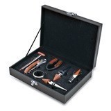 """Grenache"" 7-Piece Syrah Wine Tool Set by Picnic Time"