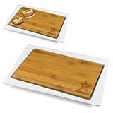 Officially-Licensed NFL Team Logo Enigma Cutting Board & Serving Tray