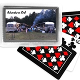 Custom Stickers for Decks of Playing Cards Plastic Cases (Set of 12)