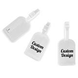 "Personalized ""Custom Design"" Luggage Tags (18 Ink Colors)"