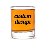 "Personalized ""Custom Design"" Shot Glass/Votive Holder"