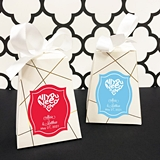 Personalized 'All You Need is Love' Pedestal Favor Boxes (Set of 12)