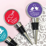Personalized Themed Silhouette Icon Bottle Stopper (61 Designs)