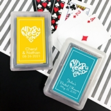 Playing Cards Deck w/ Customized All You Need is Love Sticker on Case