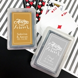 Playing Cards Deck with Personalized Always & Forever Sticker on Case