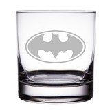 "Batman Logo 10 oz ""Rocks"" Glass"