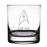 Star Trek Starfleet Insignia 10 oz 'Rocks' Glasses (Set of 2)