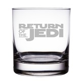 "Star Wars Return of the Jedi Engraved 10 oz ""Rocks"" Glass"