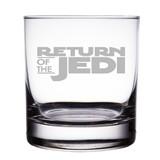 Star Wars Return of the Jedi Engraved 10 oz 'Rocks' Glasses (Set of 2)