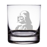 "Darth Vader Star Wars Engraved 10 oz ""Rocks"" Glass"