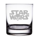Star Wars Logo with Darth Vader Engraved 10oz Rocks Glasses (Set of 2)