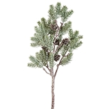 CTW Home Collection Artificial Pine Tree Branch with Pine Cones
