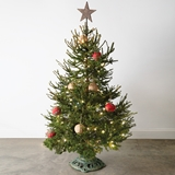 CTW Home Collection Vintage-Look Art Nouveau Christmas Tree Stand