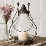 CTW Home Collection Vintage-Look Northbridge Candle Lantern