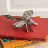 CTW Home Collection Cast-Iron Dragonfly Figurines (Set of 2)