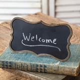 CTW Home Collection Mini Tabletop Chalkboard Signs (Box of 2)