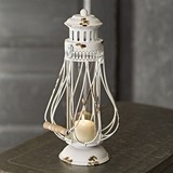 CTW Home Collection Charlotte Olde Towne Lantern with Wood Handle