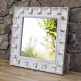 CTW Home Collection 'The Churchill' Carved-Wood-Frame Wall Mirror