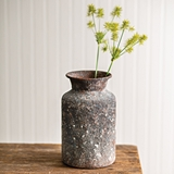 CTW Home Collection Textured Bouquet Vase with Patina