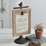 CTW Home Collection 'Feather Your Nest' Metal & Wood 5x7 Picture Frame