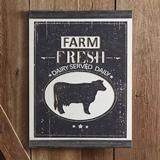 CTW Home Collection 'Farm Fresh' Modern Farmhouse Wood Wall Sign