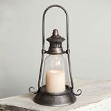 CTW Home Collection Edmonton Candle Lantern with Handle