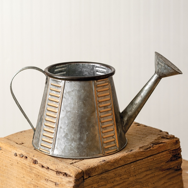 CTW Home Collection Copper and Galvanized-Metal Watering Can