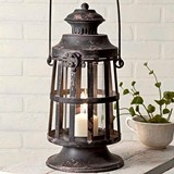 CTW Home Collection Lighthouse-Inspired Curtis Island Candle Lantern
