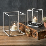 "CTW Home Collection Set of Two ""Uptown"" Candle Stands"