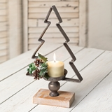 CTW Home Collection Christmas Tree Candle Holder