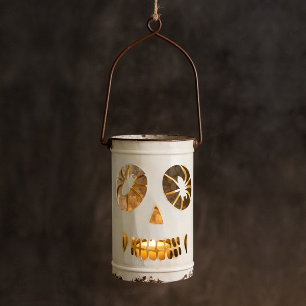 CTW Home Collection Halloween Skeleton Luminary with Handle