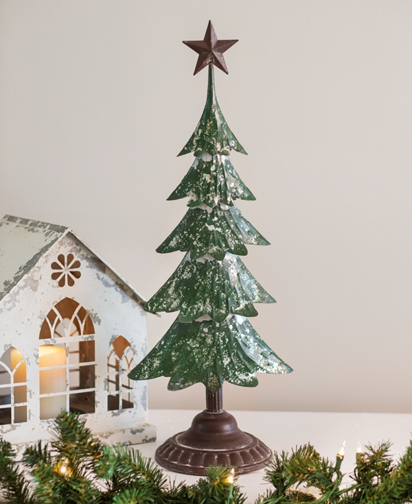 CTW Home Collection Metal Christmas Tree with Star