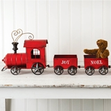 CTW Home Collection Decorative Holiday Train with 3 Compartments
