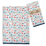 CTW Home Collection Fun 'Fish in the Sea' Tea Towels (Box of 4)