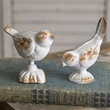 CTW Home Collection Cast-Iron Love Birds Figurines (Set of 2)
