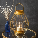 CTW Home Collection 'Juno' Golf-Metal Wire Lantern with Loop Handle