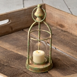 CTW Home Collection Antiqued Cape York Candle Lantern with Patina