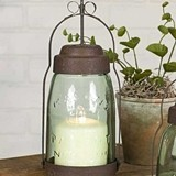 CTW Home Collection Quart Mason Jar Butler Lantern