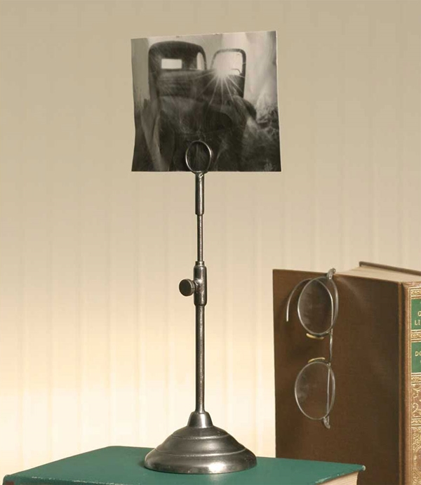 CTW Home Collection Vintage-Look Telescoping Photo Holder (Box of 2)