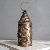 CTW Home Collection Paul Revere Candle Lantern - Antique Brass