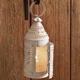 CTW Home Collection Paul Revere Punched-Tin Candle Lantern (3 Colors)