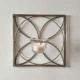 CTW Home Collection Brass Finish 'Charlotte' Tealight Wall Sconces (2)