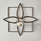 CTW Home Collection 'Olivia' Tealight Wall Sconces w/ Brass Finish (2)