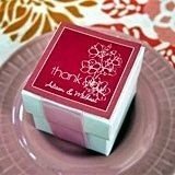 Stunning Cherry Blossom Design Personalized Labels (Set of 20)