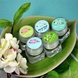 Excellent Cherry Blossom-Design Personalized Lip Balm
