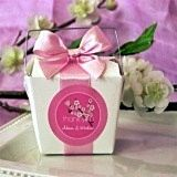 Phenomenal Cherry Blossom Design Personalized Labels (Set of 12)