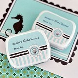 Match Your Theme Contemporary-Design Personalized Mint Tins